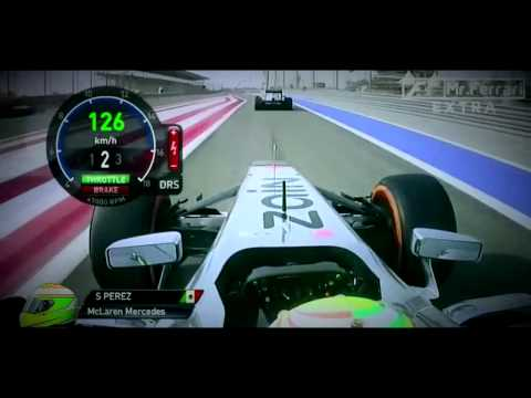 F1 2013   Bahrain GP   Race   Onboard Highlights   Natural Sounds