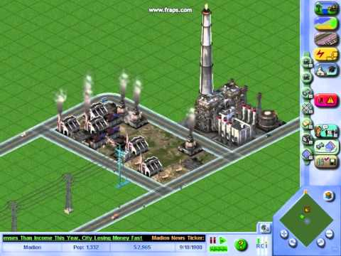 Sim City 3000 (GamePlay)