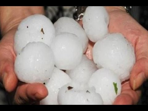 Hail Storms Batter Central & SW China