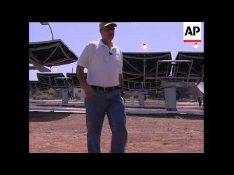 Solar plant boasts super efficient solar panels