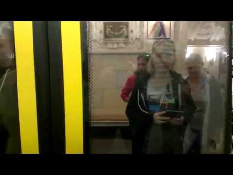 Московское метро. Переход с ветки на ветку.