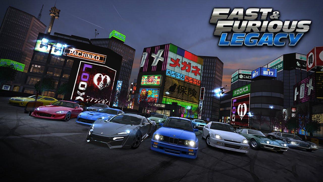 ����� ������ : Fast & Furious: Legacy 3.0.2