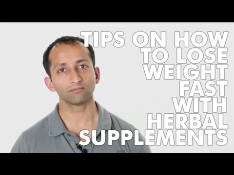 Tips On How To Lose Weight Fast With Herbal Supplements