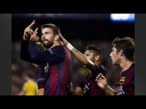 Barcelona 1-0 Apoel [Messi Grabs Another Assist]