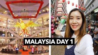 Malaysia Vlog #1   Shopping Around Kuala Lumpur 🇲🇾