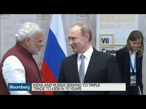 Modi in Moscow to Boost Defense, Energy Ties