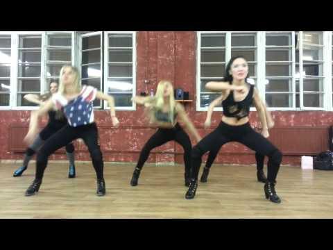 Tinashe 2 on / high heels choreography/ lady style