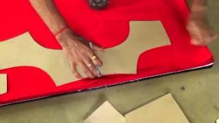 How To Cut Blouse In Cross Cutting In Telugu 71