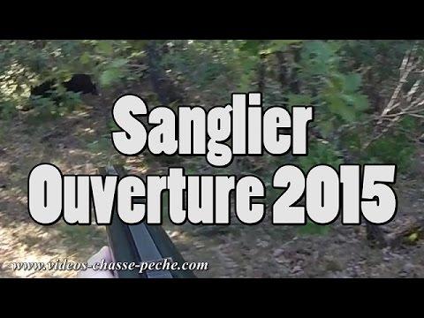 Sanglier, Ouverture 2015 (Nombreux Tirs, 3 Prélevés) - GoPro 3+ BE chasse au sanglier