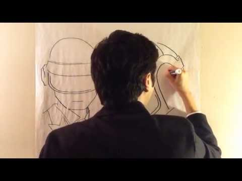 DAFT PUNK how to draw