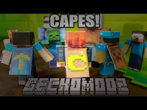 Minecraft - How To Get A Cape 1.6.1-1.6.2