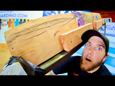 CRAZY SKATEBOARD HANDRAIL! | BRAILLE BUILDS EP. 6
