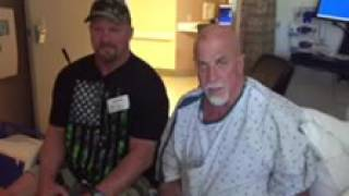 Stone cold Steve Austin came to visit Me at the Hospital