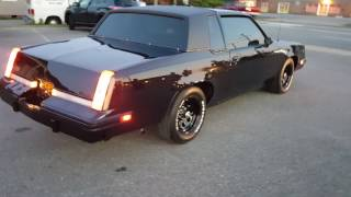84 Oldsmobile Cutlass Black Cherry/ Johns Restoration