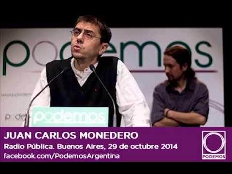 Juan Carlos Monedero en