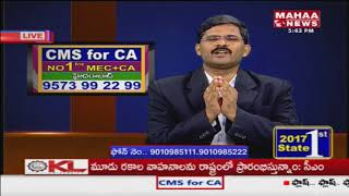 Special Discussion With Catted Accountant Chandrasekhar Over CMS For CA Course