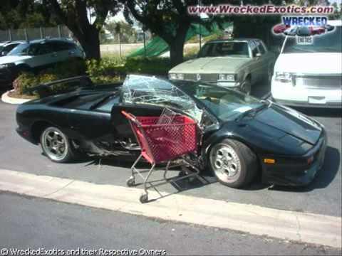 Фото машин после аварий [ВИДЕО]