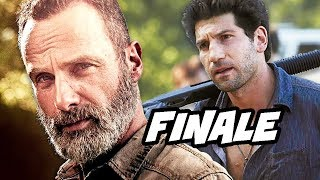 Walking Dead Season 9 Episode 5 - Rick Grimes Finale and Whisperers Trailer
