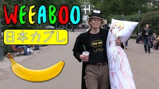 Anime Weeaboo Goes Crazy In Public (CRINGE) ????? ???
