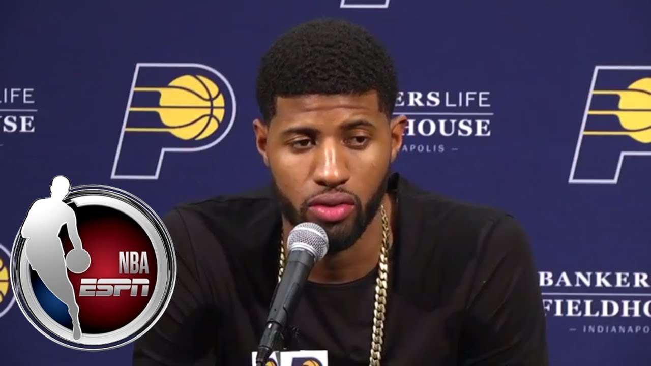 Paul George responds to boos from Pacers fans   ESPN
