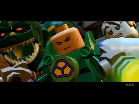 LEGO Batman 3: Beyond Gotham - All Cutscenes | Movie [HD]