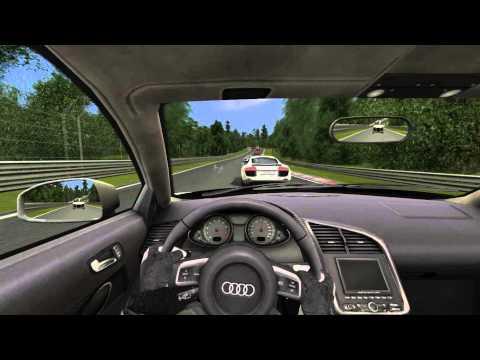 В стиле Виктора Ан - Audi R8 - Nordschleife (GTR Evolution)