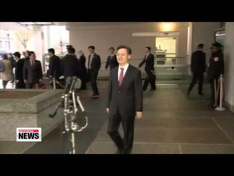 South Korea, U.S., Japan hold nuke talks amid growing North Korean threats