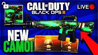 """NEW """"COSMIC"""" CAMO IN BLACK OPS 3! - UNLOCKING """"TRIPLE PLAY"""" CONTRACT! - FREE BO3 DLC WEAPON!"""