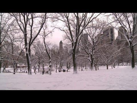 Snowstorm slams northeastern United States