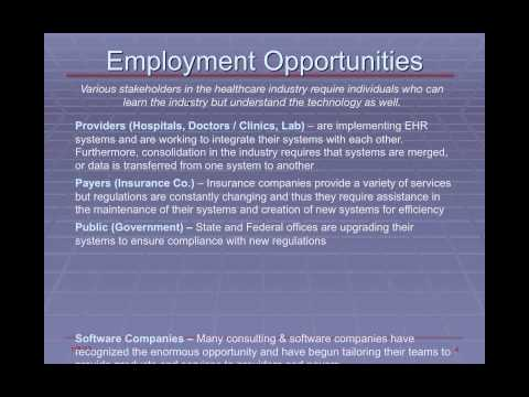 Jobs in Healthcare Information Technology