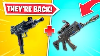 OG weapons RETURNING to Fortnite!