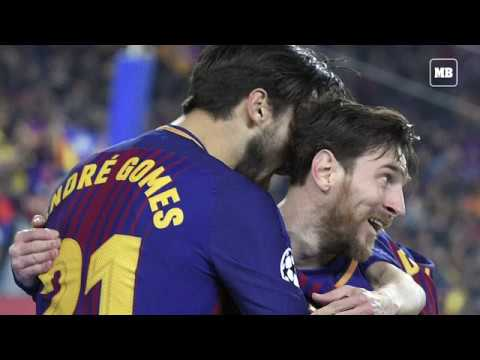 Messi hits 100th Champions League goal as Barca make last eight