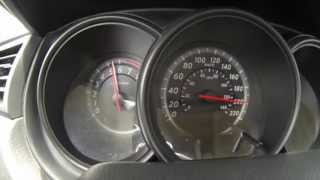 Nissan TIIDA Acceleration 0-200 Km/h