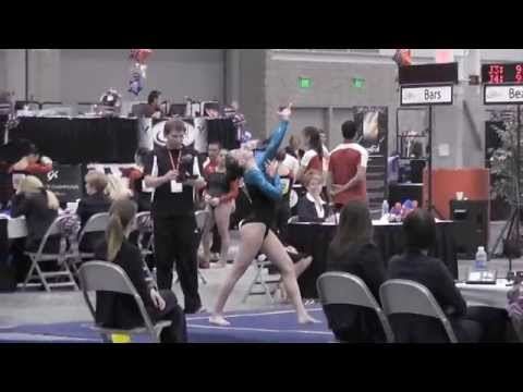 Sydney McGlone-Level 10 UGI Gymnast, 2012 JO Nationals Floor Routine