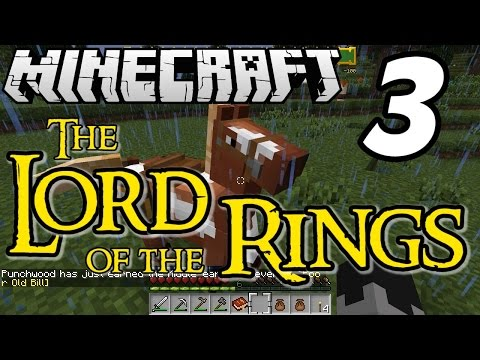 Minecraft Lord Of The Rings E03 bill The Pony! (silly Role-play Adventure) video