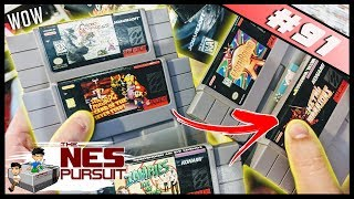 TheNesPursuit - The KING of COLLECTING - EARTHBOUND - Episode 91