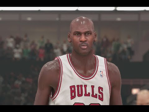 NBA 2K14 (PS4): 1995-96 Bulls vs 1995-96 Sonics - 1st Quarter