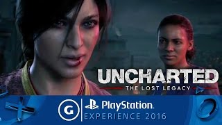 Uncharted: The Lost Legacy Reveal Trailer | PSX 2016