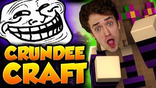 Minecraft: GERTRUDE = CRAINER TROLL   CRUNDEE CRAFT
