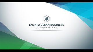 Clean Business Company Profile - After Effects Template - Videohive