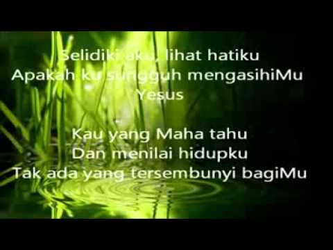 Lagu Rohani Kristen | Nikita - Selidiki Aku video