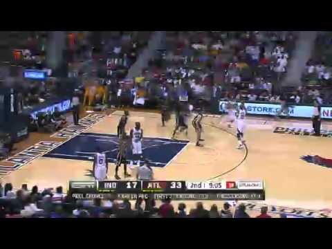 NBA CIRCLE  Indiana Pacers Vs Atlanta Hawks Game 3 Highlights 27 April 2013 NBA Playoffs