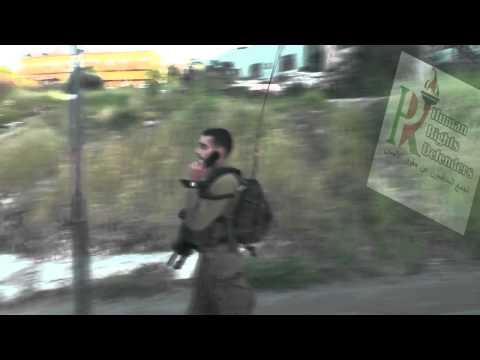 IOF arrested Nizar Salhab after Settlers brutally assaulted him