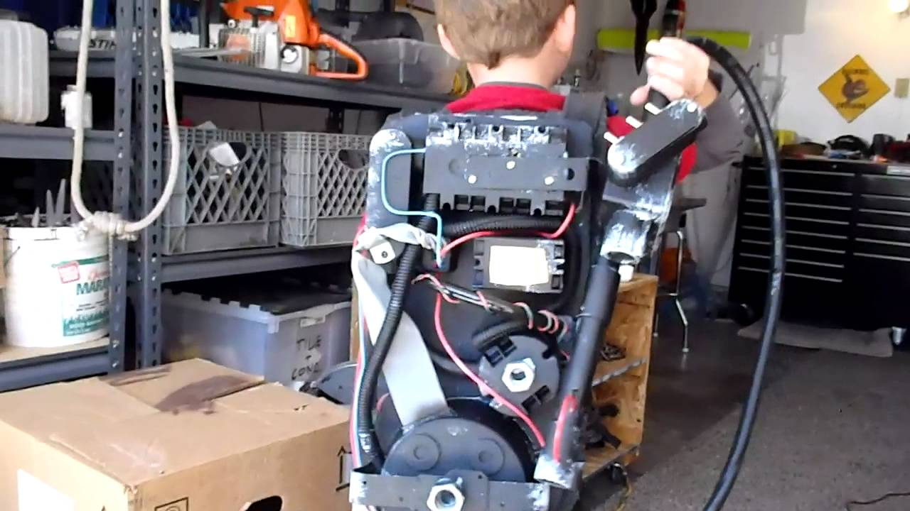How To Build A Ghostbusters Proton Pack Mp4 Youtube