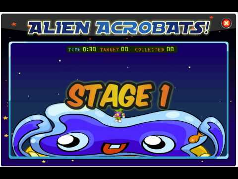 Mini game 1-4 (alien friends)