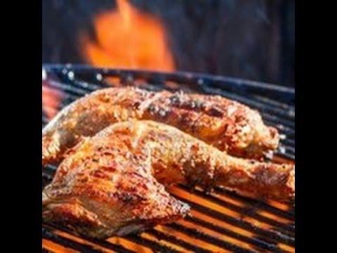 Pollo a la parrilla acompa ante perfecto de mi arroz 2 - Parrilla de la vanguardia ...