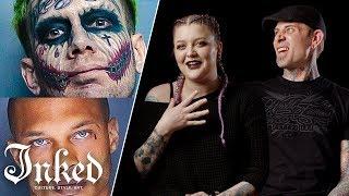 Tattoo Artists React To Mugshots | Tattoo Artists Answer