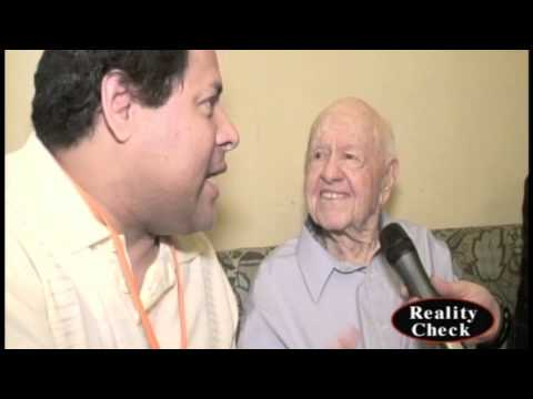 Mickey Rooney on Reality Check TV 5/12/13