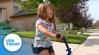4-year-old on a bike ride saves family from house fire