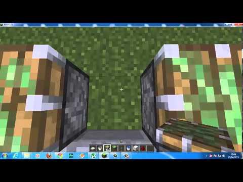 Como hacer una piscina con cascada en minecraft youtube for Como construir una piscina